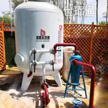 点赞踩 新打的深水井水里有泥沙办井水浑浊处理 井水除铁锰过滤器 除砂器