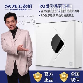 索怡(SOYE)家用净水器 RO反渗透 厨下式直饮机 大通量纯水机 金鱼